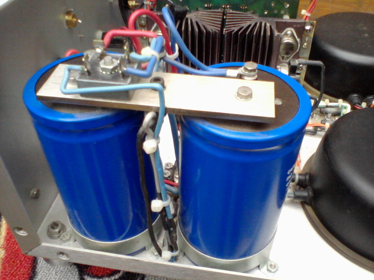 The Bridge Rectifier and PSU Smoothing Capacitors