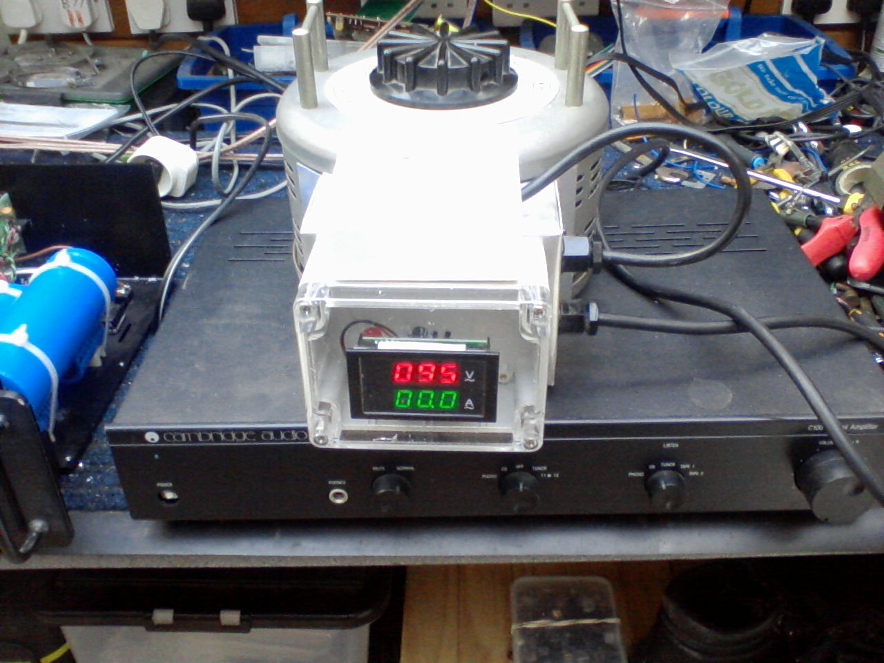 Modifications to the Variac